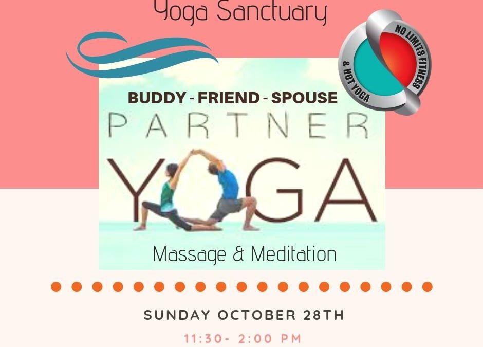 Partner, Buddy, Friend Yoga