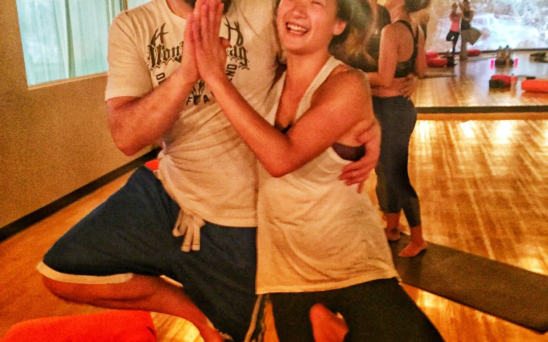 Partner Yoga, Massage and Meditation